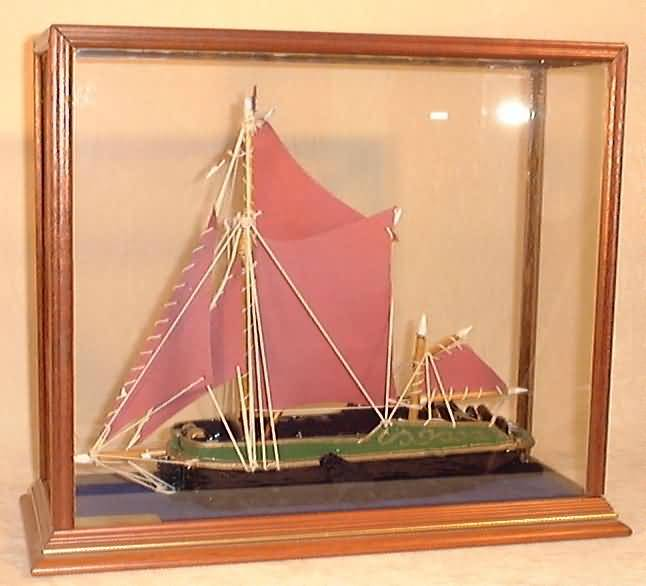 Boat in Radcliffe Display Case