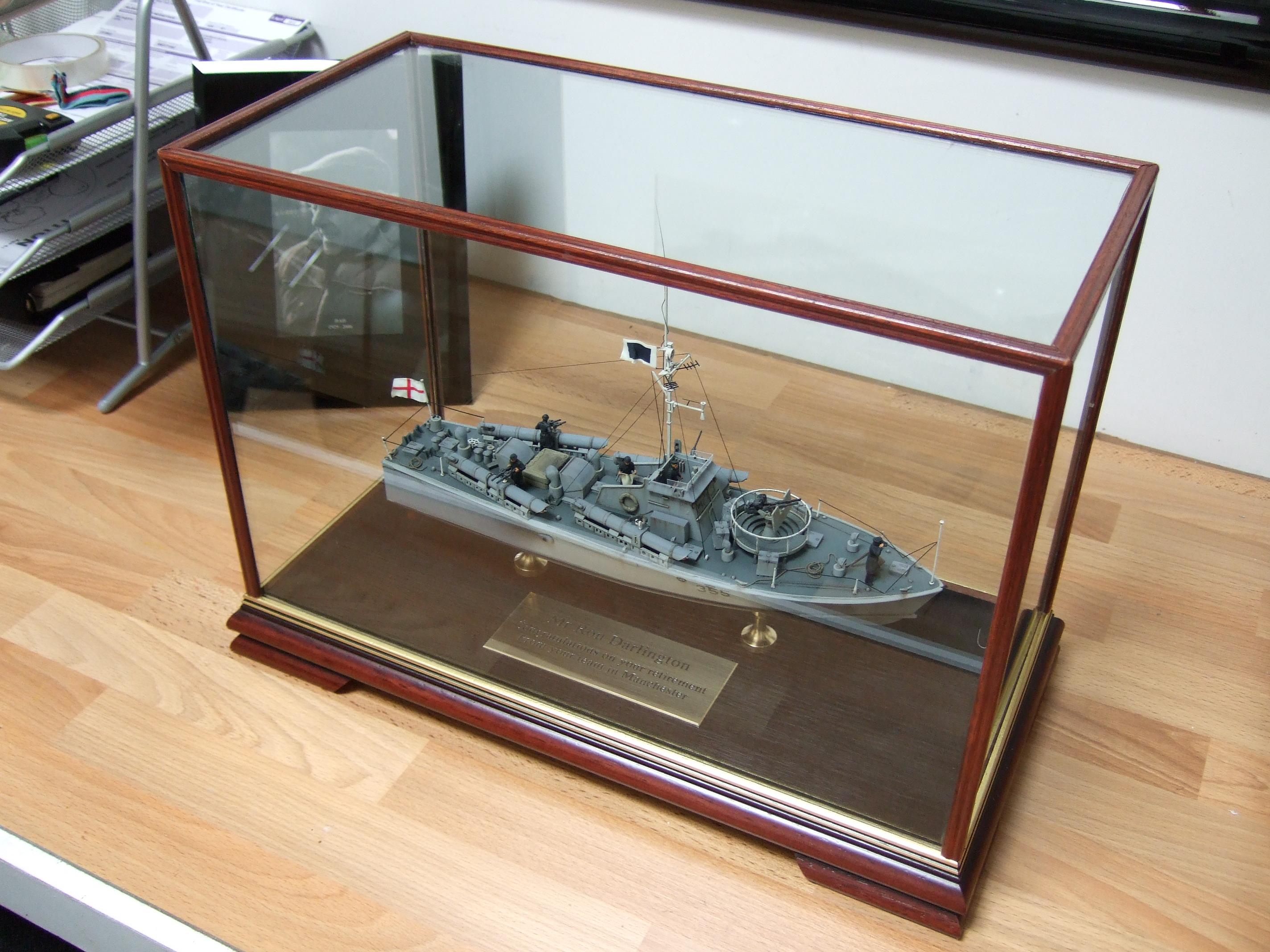 Boat in Display Case