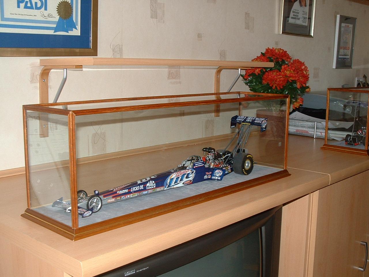 Racing car Radcliffe Display Case