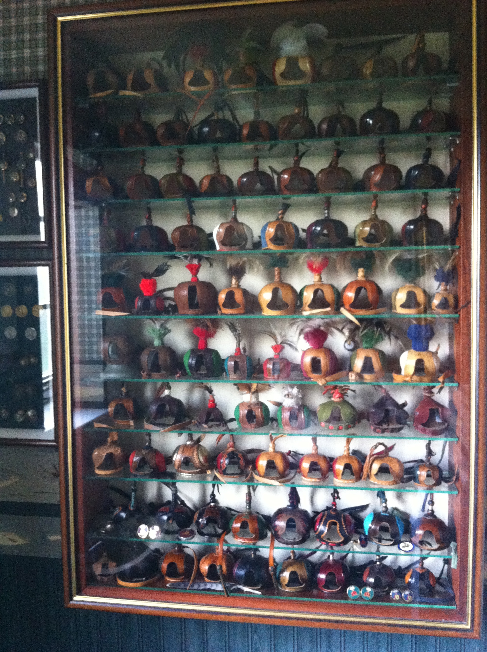 Hat Display - Wall Display Case