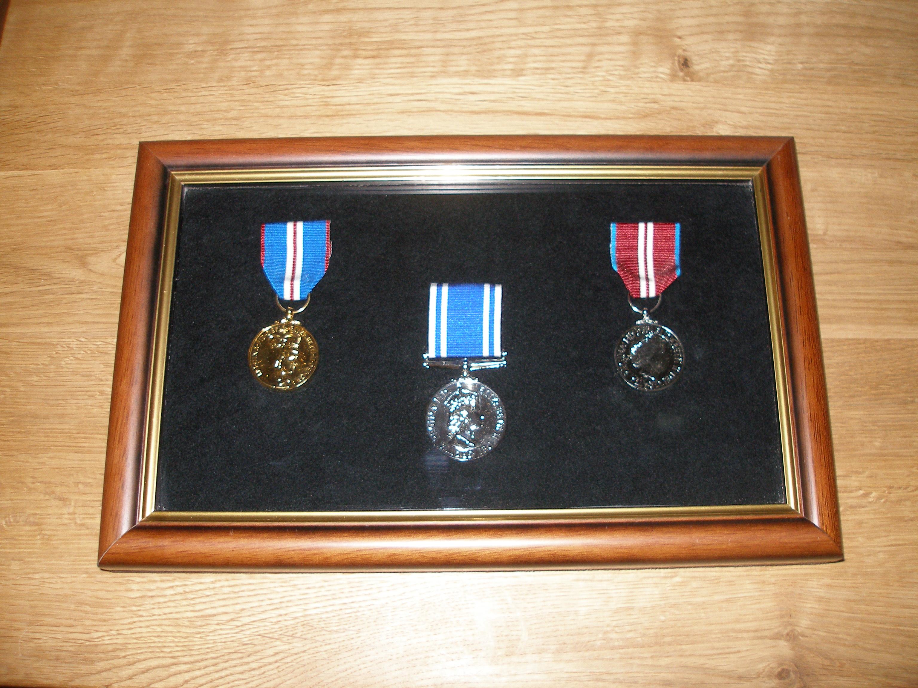 Bespoke Medal Display Case
