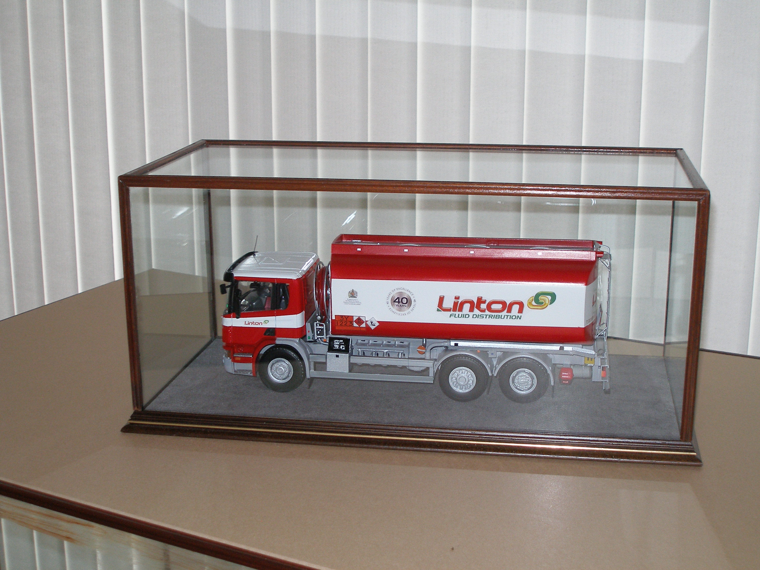 Radcliffe case with Truck