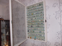 Thimble Wall Display Case White