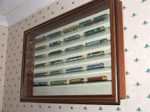 Picture Box Display of Trains