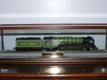 Train Display Case Glass