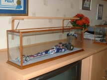 Racing car Radcliffe Display Case
