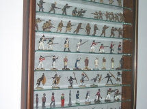 Military figures Picture Box Display Case