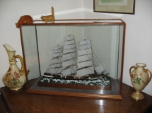 Ship in Display Case