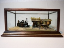 Radcliffe Dark Oak Display Case