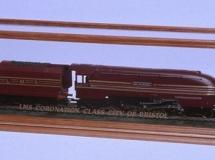 A Model Train in a DSC Display Case