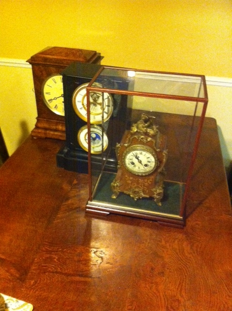 Clock in Belmont Case