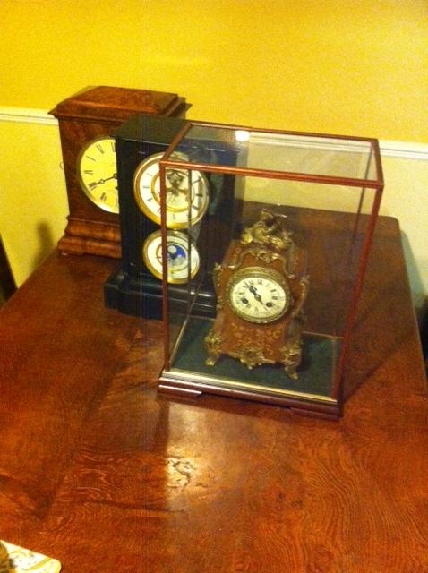 Clock in Belmont Case