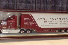 Model Truck Display Case
