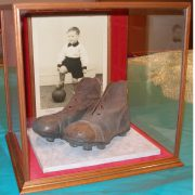 Football boots and photograph in Radcliffe case