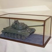 Tank displayed in Radcliffe Case