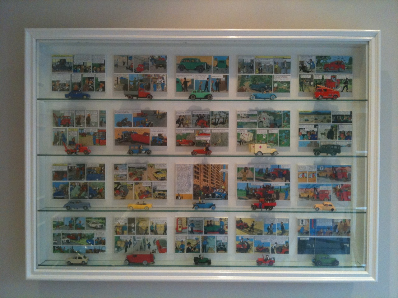 Picture Box Wall Display Cabinet Dsc Showcases