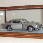 Light Oak Radcliffe Display Case with car