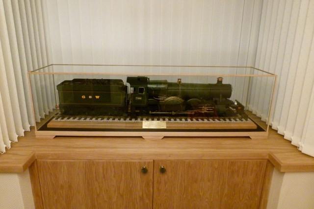 Locomotive in case