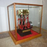 Steam Engine in Display Case