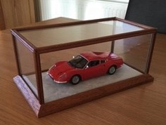Car in Display Case