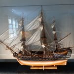 Displaying HMS victory