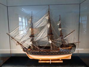 Displaying HMS victory